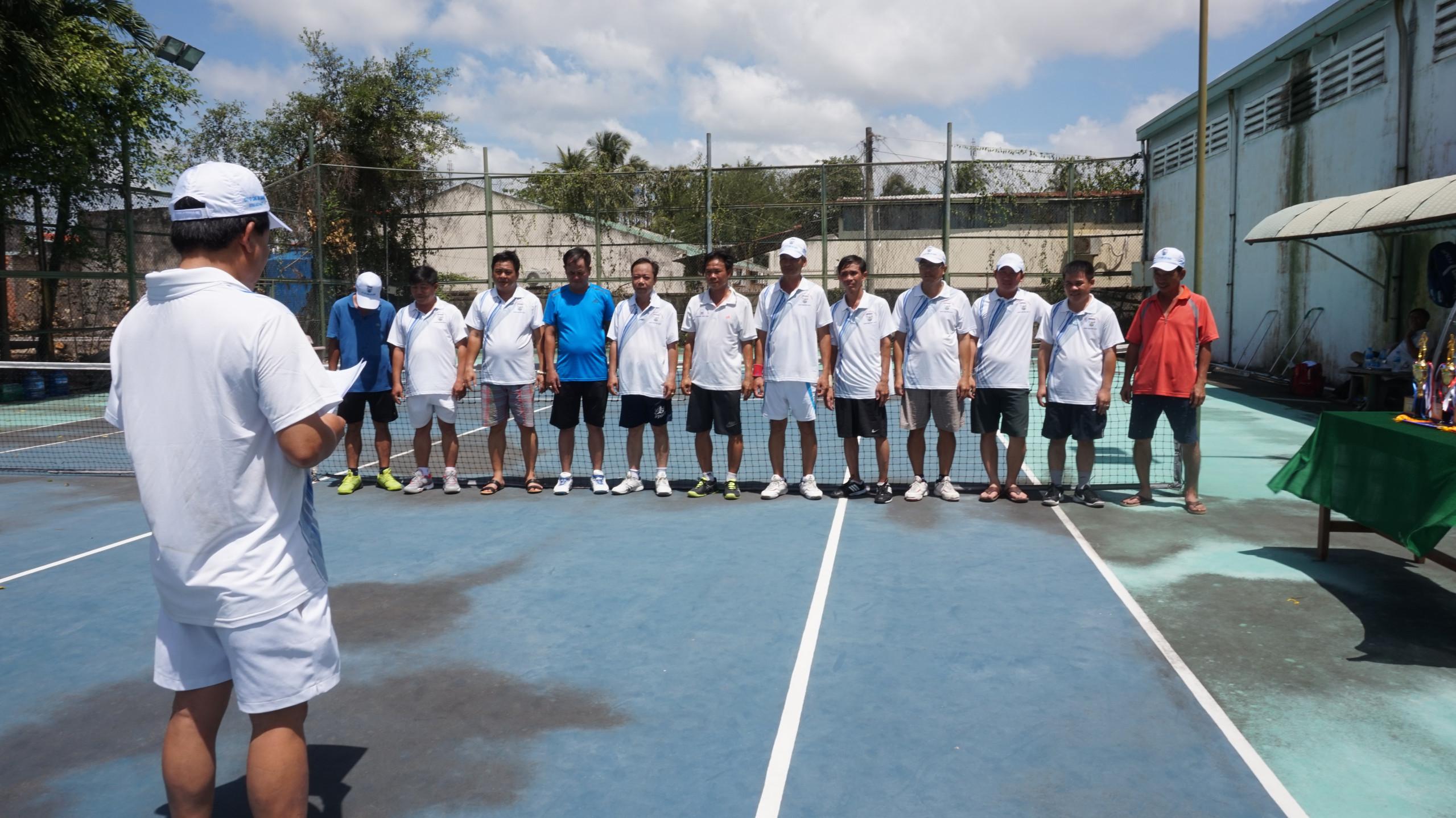 Giải quần vợt chào mừng kỷ niệm 73 năm Cách mạng tháng Tám và Quốc khánh 2/9